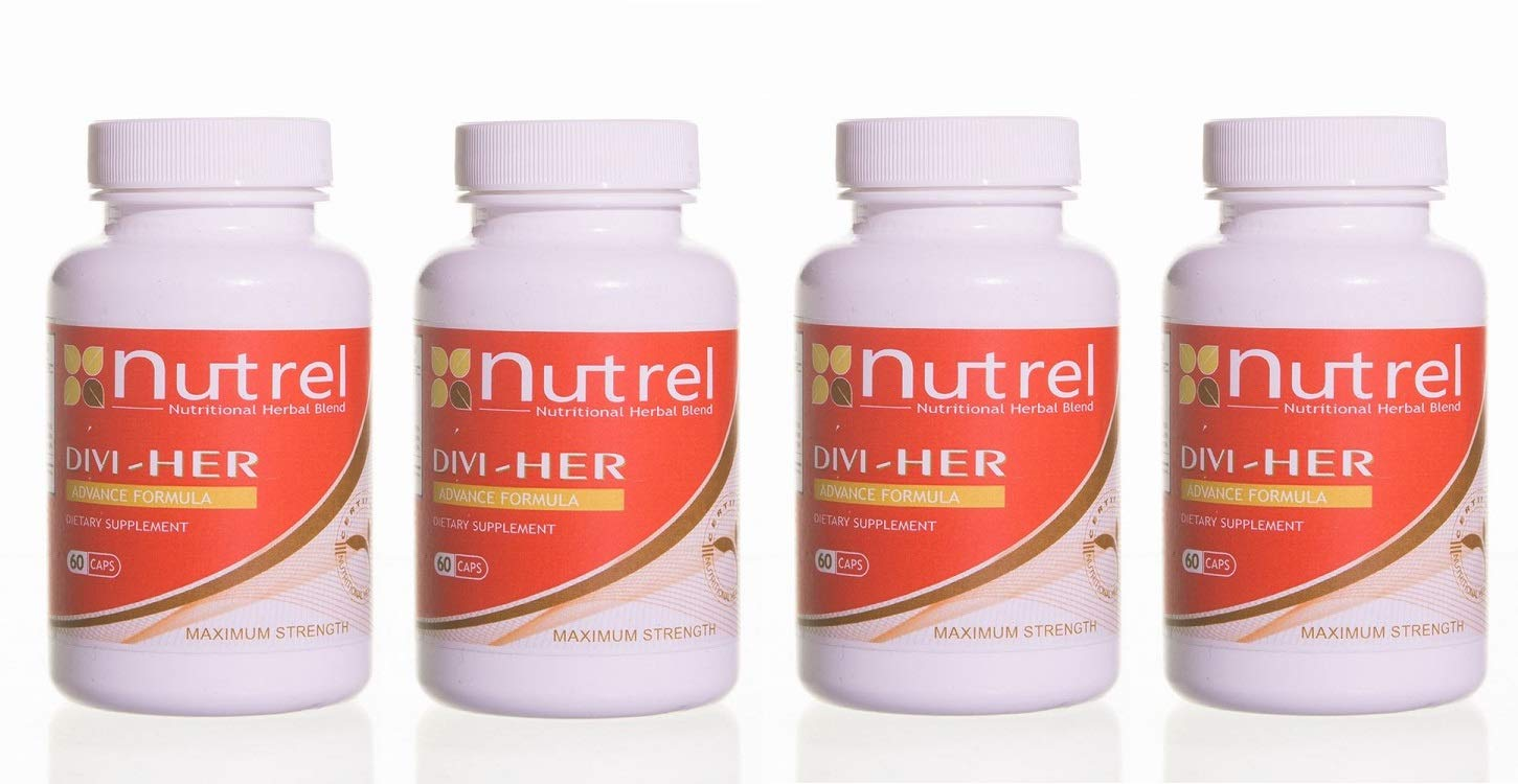 DIVI HER, 4 Bottles 240 CAPS Weight Loss Helps Control Appetite and Food Cravings