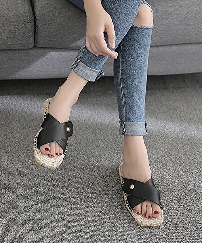 CHAOXIANG Chanclas Para Mujer Antideslizante Zapatillas De tacón alto Sandalias De Surf Nuevo Zapatos De Playa Del Verano ( Color : B , Tamaño : EU41/UK8/CN42 EU42/UK8.5/CN43 ) B