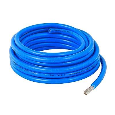 GG Grand General 55031 10 Gauge Blue Wire, 10 Feet: Automotive