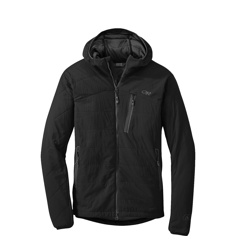アウトドアリサーチ アウター ジャケット&ブルゾン Uberlayer Hooded Jacket Black [並行輸入品] B072MLP7PX