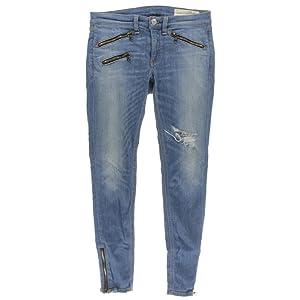 Rag & Bone Womens Denim Kilbowie Wash Skinny Jeans Blue 26
