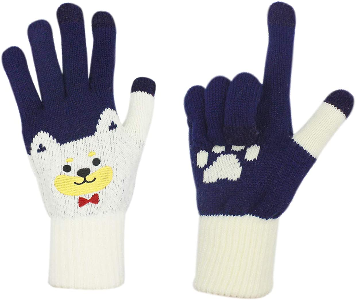Cute Knit Touch Screen...