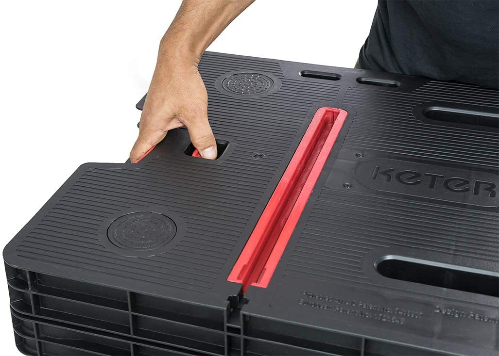 Keter 249137 Banco de herramientas plegable