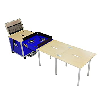 Amazon.com: EatCamp - Cocina plegable portátil para acampada ...