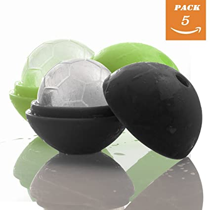 Sale HOT Cute Maker Sphere Ice 4Pcs Bar Tray Ball Round Cube Kitchen