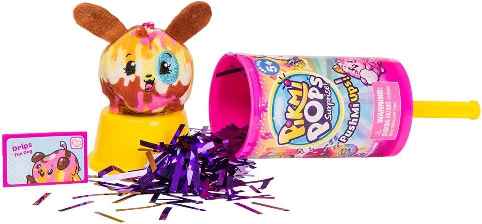 Pikmi Pops- Pushme Up Peluche perfumado (Giochi Preziosi Spagna PKM15000) , color/modelo surtido
