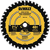 Deals on DEWALT DWA171440 7-1/4-in 40-Tooth Circular Saw Blade