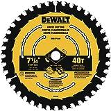 DEWALT DWA171440 7-1/4-Inch 40-Tooth Circular Saw Blade