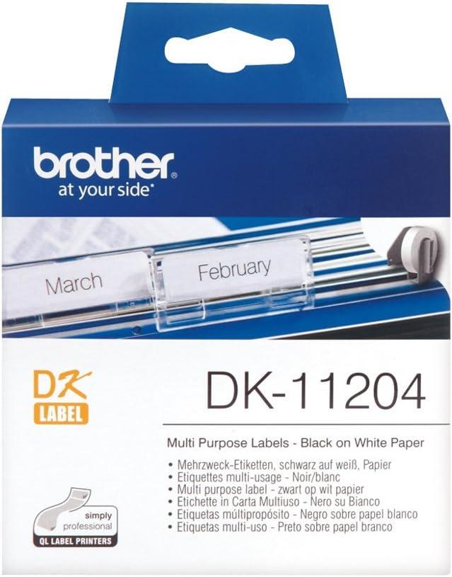 Drucker Line Serie 5x Adress Etiketten Rollen für DK11202 Label 62x100mm