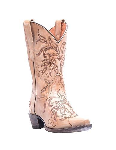 Dan Post Western Boots Womens Snip Leather Nora 8 M Bone DP3733