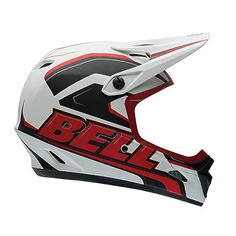 Bell Transfer-9 Helmet Matte White/Red Setup, S