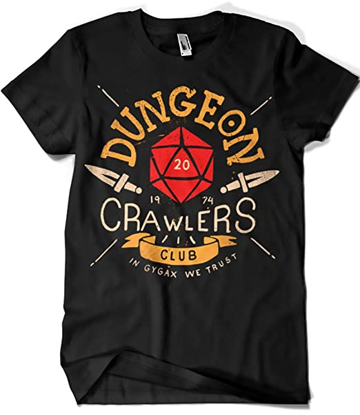 435-Camiseta Dungeon Crawlers Club (Azafran): Amazon.es: Ropa y accesorios
