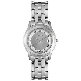 4b56cb9b0e8 Amazon.com  GUCCI Men s YA055305 5500 Series Watch  Gucci  Watches