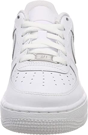 Nike Air Force 1 (GS), Zapatillas de Baloncesto Unisex bebé