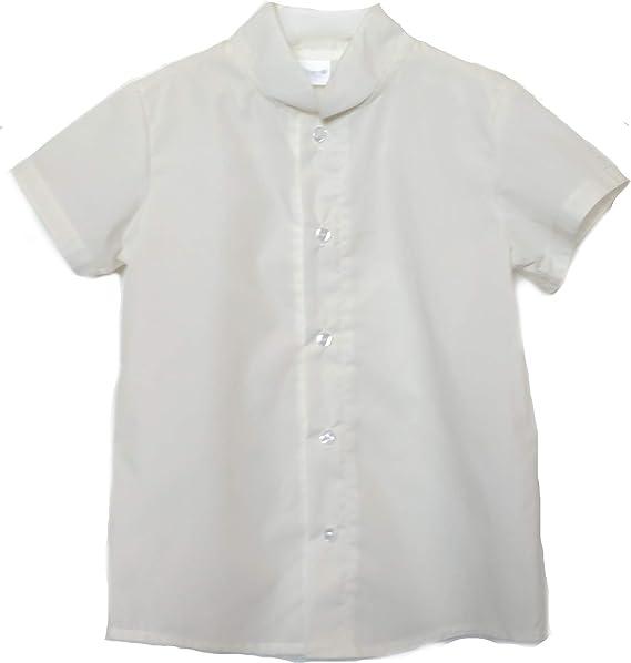 Camisas para Bebé y Niños de Manga Corta | 100% Algodón y Cuello Mao | Tallas de Entre 3 Meses y 6 Años | Fabricadas en España: Amazon.es: Ropa y accesorios