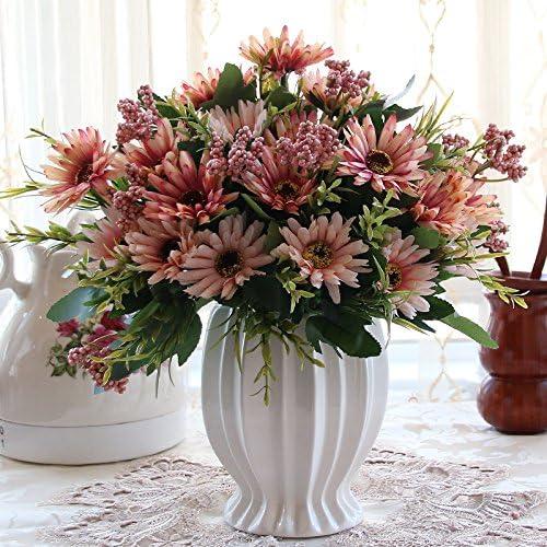 Beata. T Continental emulación rosa Artificial flores adornos Sala ...