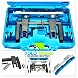 Camshaft Alignment Timing Tool Kit Engine Tools Set Vanos Plates For BMW N51/N52/N53/N54 By YOLO Stores