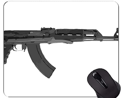 Amazon com : Gaming Mouse Pad, Guns Weapons Automatic Weapon