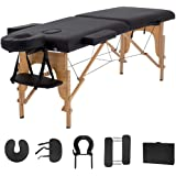 """""""SUPREME BRAND"""" Portable Massage Table With Bed Cover Included & Carrying Case ! Foldable, Easy To Use, No Tools Needed…"""