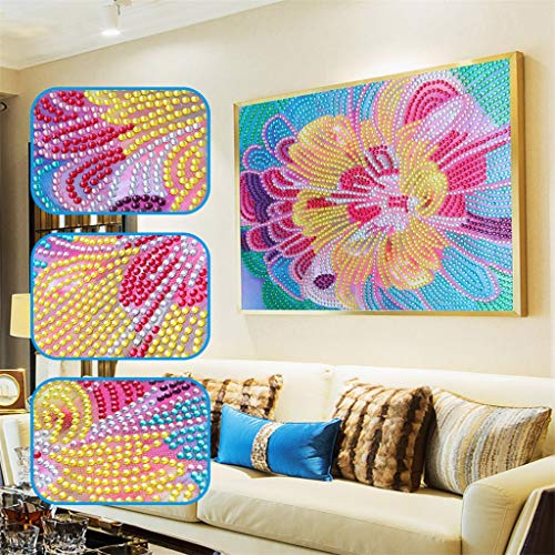 - OrchidAmor Special Shaped Diamond Painting DIY 5D Partial Drill Cross Stitch Kits Crystal R 2019