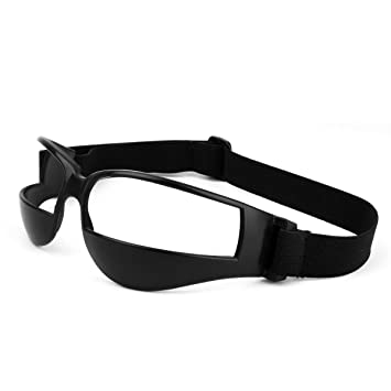 12a5156599f7 Unique Sports Goggles Dribble Specs Basketball Training Aid Safety Goggles  for Men with Adjustable Strap for Basketball Black  Amazon.ca  Tools   Home  ...