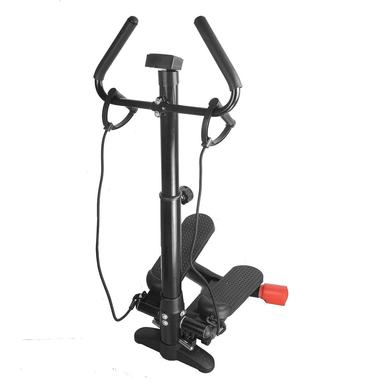Vinteky Fitnessger/äte Side Stepper mit Trainingscomputer f/ür gelenkschonendes Training Ausdauertraining und Muskelaufbau f/ür Zuhause B/üro f/ür Ganzk/örpertraining