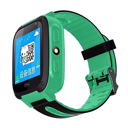 Amazon.com: Jannyshop Kids Smart Watch GPS Tracker ...