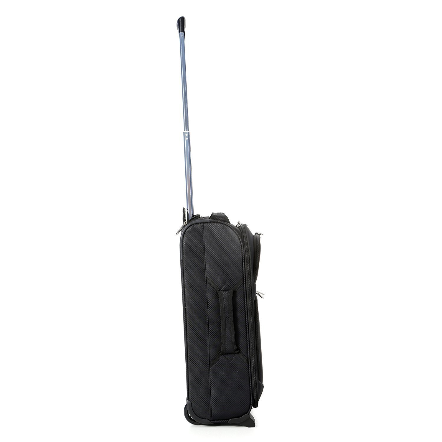 Amazon.com | Aerolite Lightweight 2 Wheel Ryanair Max Cabin Hand Luggage, 55 cm, 42 Litre, Black | Carry-Ons
