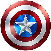 Avengers Réplica de Marvel Escudo Capitan America 60Cm Edición 75 Aniversario,1:1 Accesorios de Disfraces Retro de…