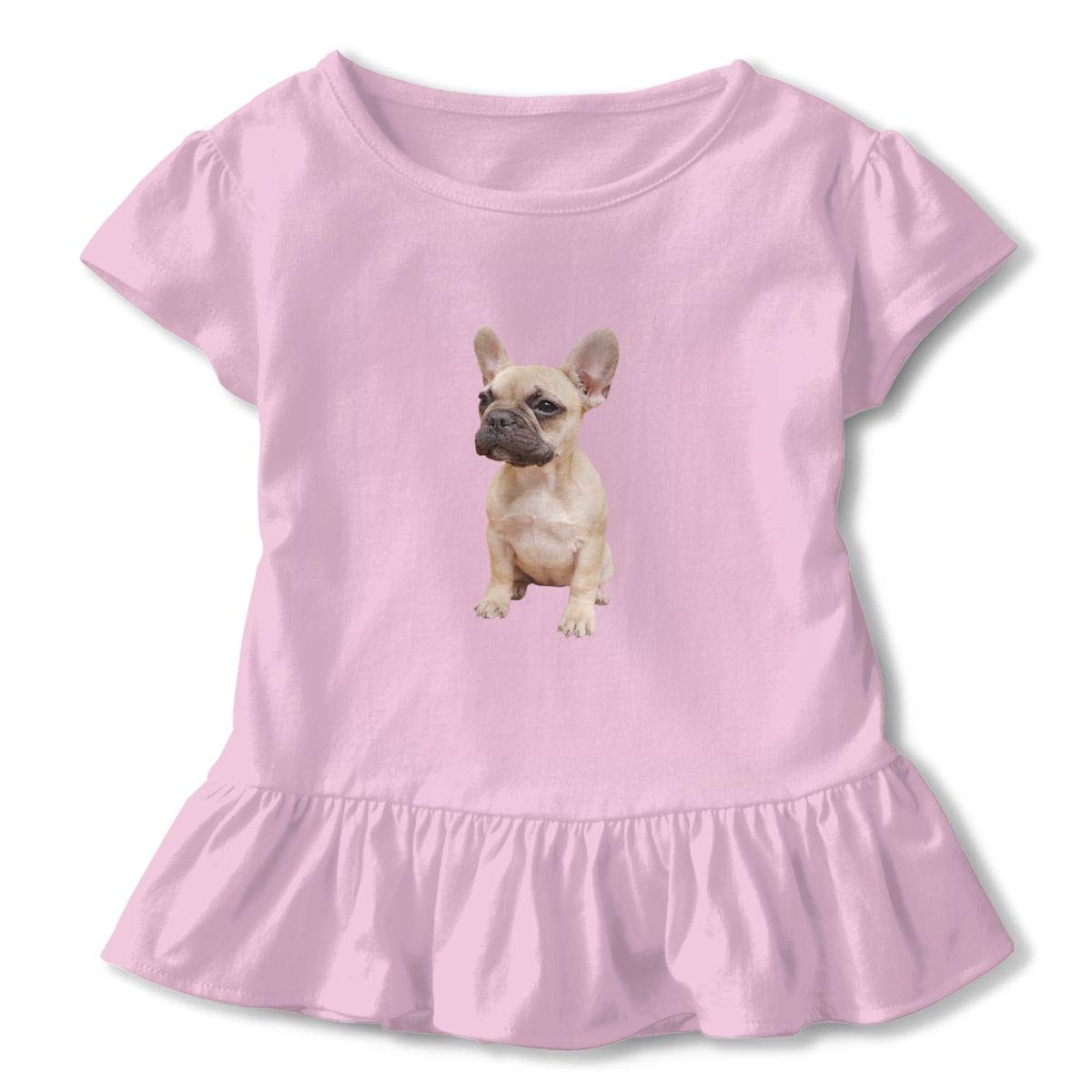 Kwai-h Bulldog Outdoor Lover Short-Sleeve Tunic T-Shirt