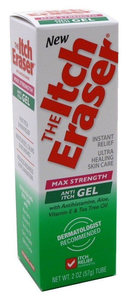 Tenders The Itch Eraser Gel Max Strength 2oz (4 Pack) by The Itch Eraser