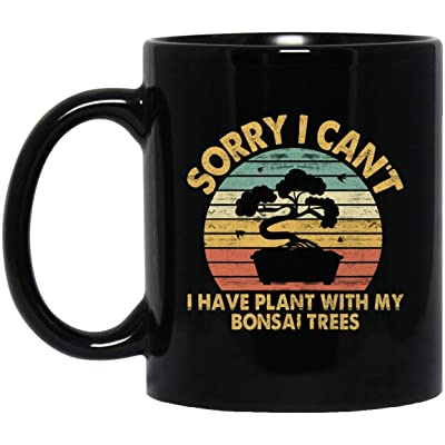 Bonsai Tree Zen coffee mug Bonsai Lover Gifts Bonsai Tree Quotes Best Mug Black Mug 190703: Kitchen & Dining