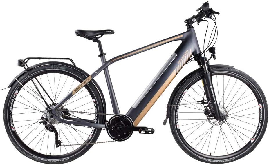Allegro Bike Urban Explorer Bicicleta eléctrica, Mujer, Negro, 28 ...