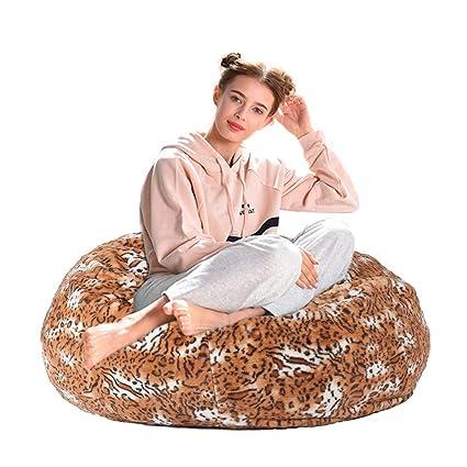 993bffde1a72 Dporticus Christmas Love Sacks Series Lounger Memory Foam Faux Fur Comfy Bean  Bag Chair Sofa Plush