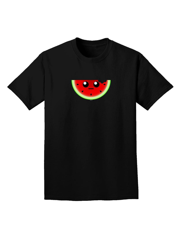 TooLoud Unimpressed Watermelon Adult Dark T-Shirt