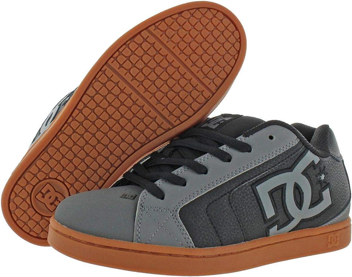 DC Herren Net Skate-Schuh Grau Gum