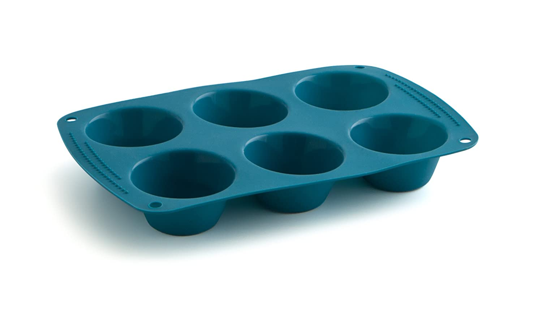 Molde para tarta de silicona color azul Quid 7241811 29 x 7 x 12 cm