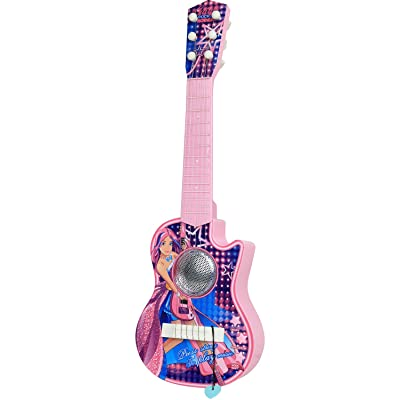 Kiddie Play Electric Toy Ukulele Guitar for Kids with Lights and Music: Toys & Games