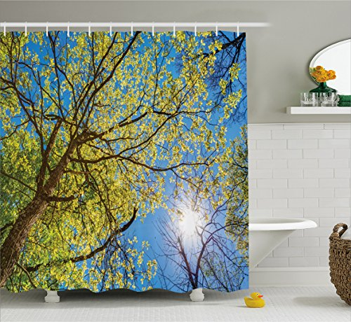 forest-home-decor-shower-curtain-by-ambesonne-tree-branches-pastoral-lumber-wide-flourishing-natural