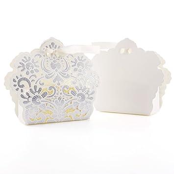 CLE DE TOUS - Cajitas de boda dulces regalos Detalles para bodas Cajas de cartón Troquelado