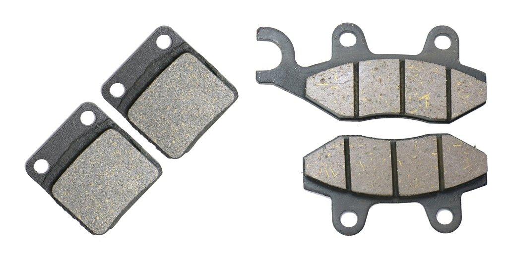 Rear Disc Brake Pads Carbon fit for KAWASAKI Street Bike KLX125 KLX 125 DAF D- Tracker 10 11 12 13 14 15 2010 2011 2012 2013 2014 2015 1 Pair(2 Pads) CNBK