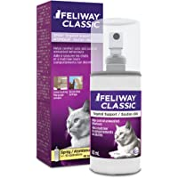 FELIWAY Spray 60 mL - Reassures Cats During Car Travel, Veterinary Visits & Helps Control Urine Spraying and Scratching - (60mL Spray, 1-Pack)