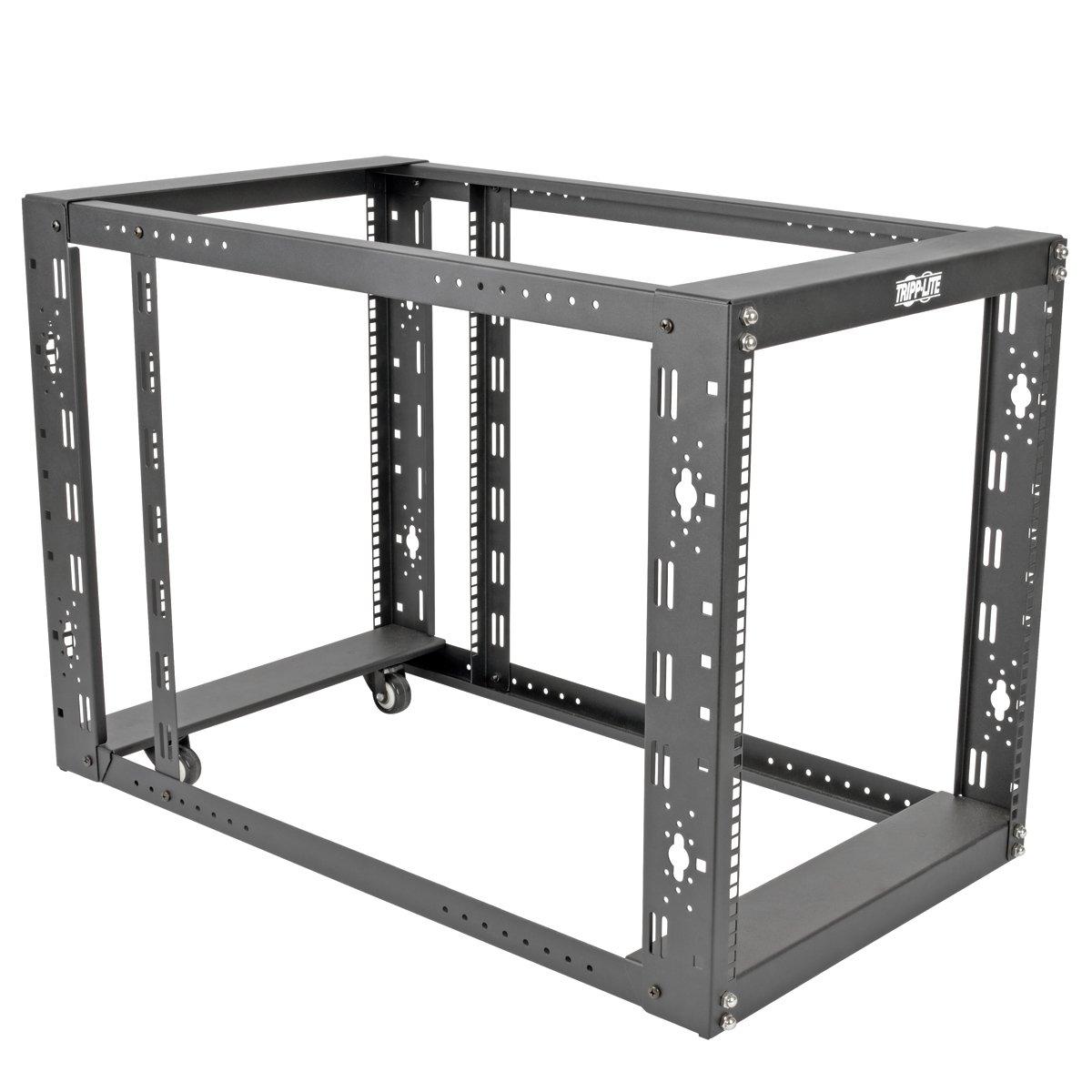 Tripp Lite 12U 4-Post Open Frame Rack Server Cabinet Floor Standing 36'' Depth (SR12UBEXPNDKD) by Tripp Lite