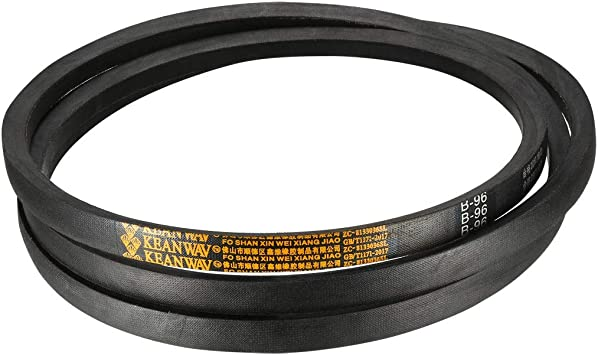uxcell B105 Drive V-Belt Girth 105-inch Industrial Power Rubber Transmission Belt