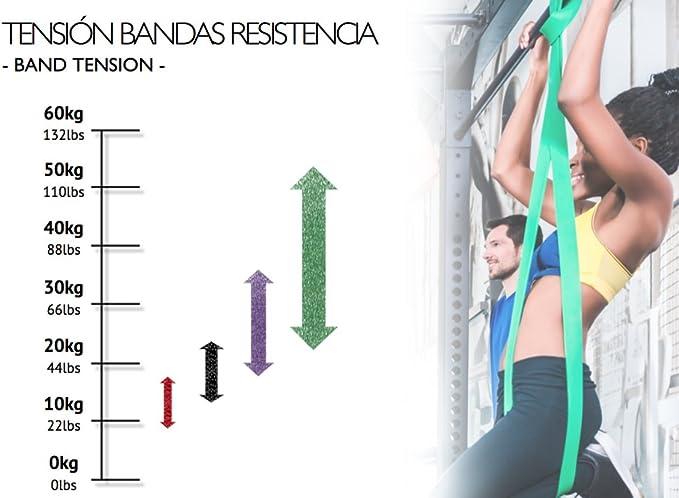 FITBREAKERS Banda Elástica de Resistencia   Cinta para ...