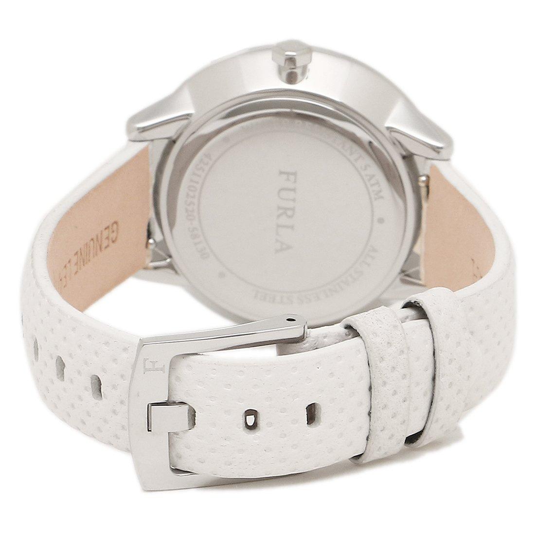 81abfdba9341 Amazon | [フルラ] 腕時計 レディース FURLA R4251102520 899283 W480 WU0 PET シルバー ホワイト  [並行輸入品] | 並行輸入品・逆輸入品・中古品(レディース) ...