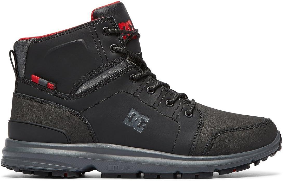 DC Shoes Torstein Sneakers High Tops Herren Größe 39 bis 47 Grau/Schwarz