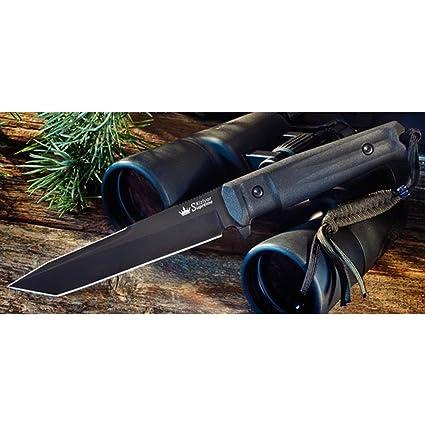 Amazon.com: Kizlyar kk0013 agresor AUS-8 Ruso Made Titanio ...