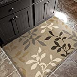 """Orian Rugs Plush Leaves Melrose Ivory Accent Rug (2'7"""" x 3'9"""")"""