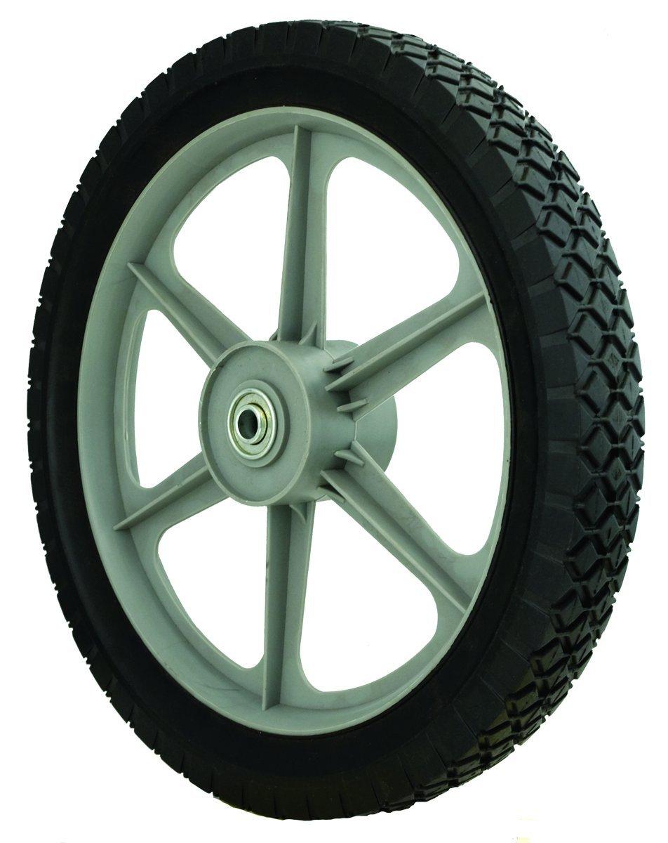 Oregon 72-024 Semi-pneumatic Wheel 14X175 Diamond Tread